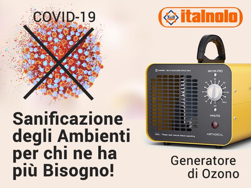 Generatore Ozono Trento Gruppo SOVECAR Trento